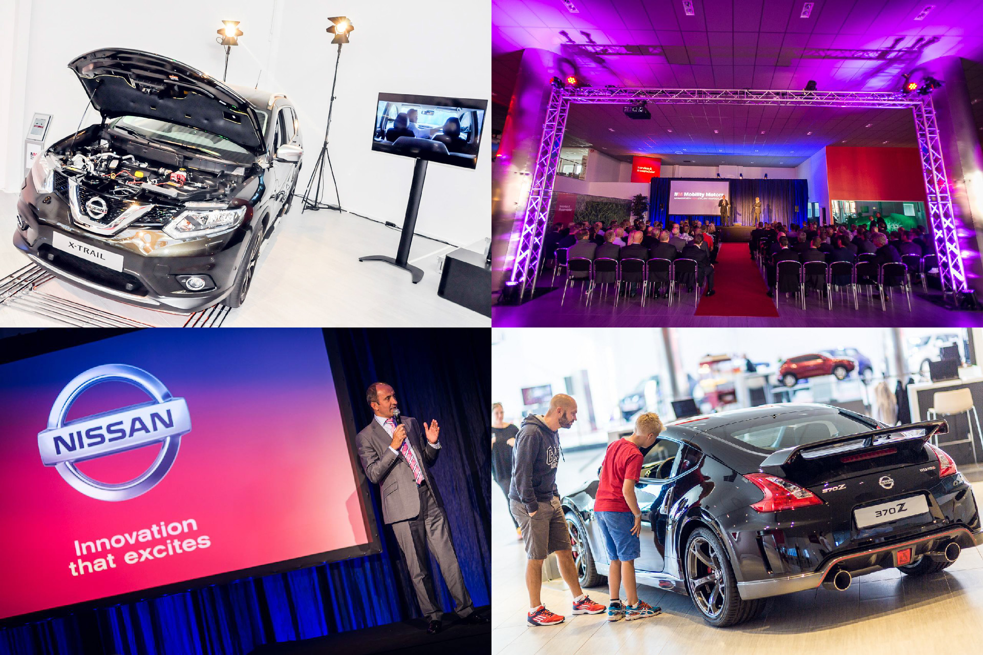 #NISSANEUROPE, Brand Experience, Expo, Displays, Conferences, Events