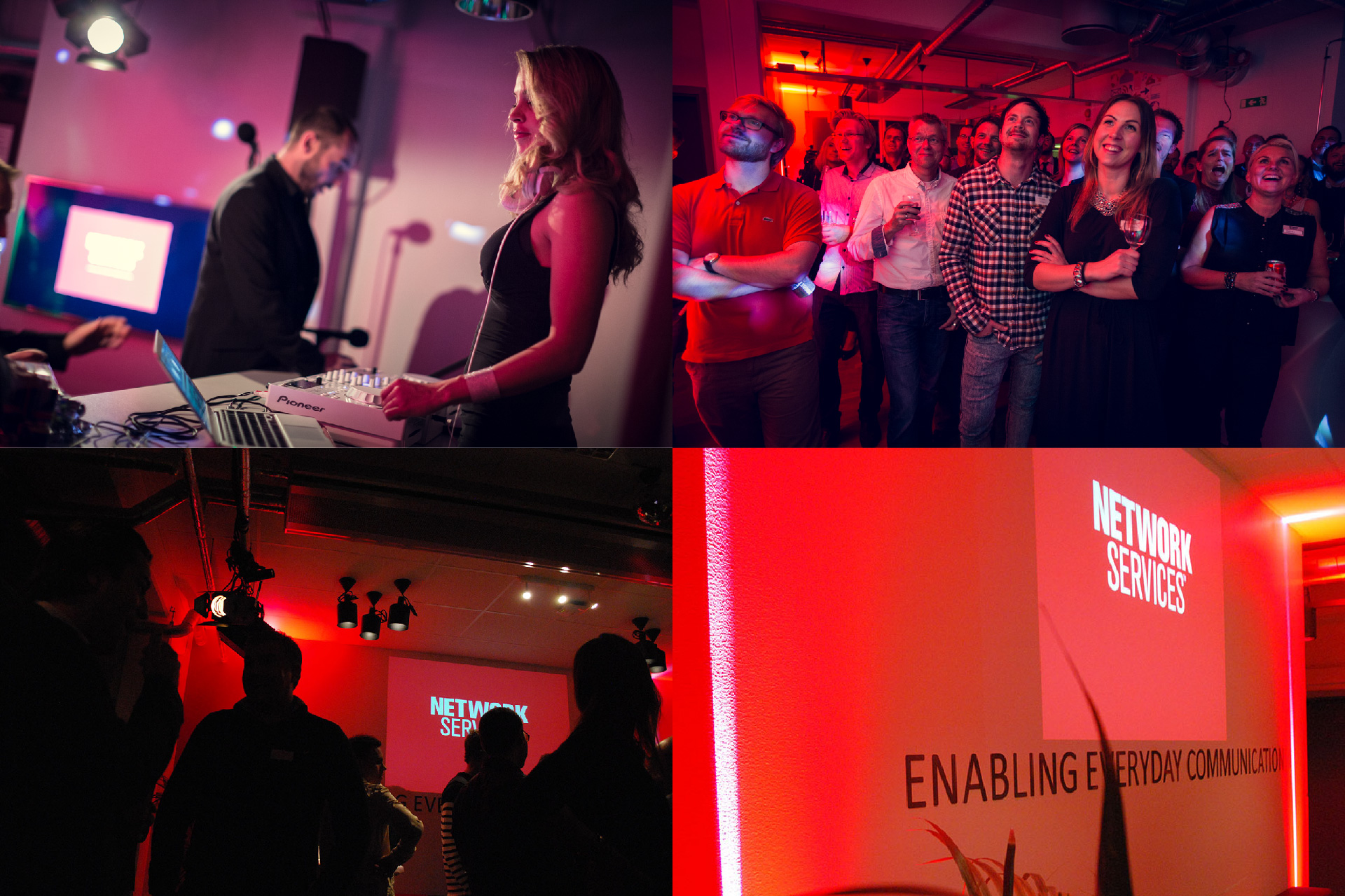 #NETWORKSERVICES, Brand Experience, Entertainment, Activities, Events